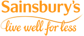 Sainsbury's Live well for less groceries logo - Go to information about Sainsbury's groceries